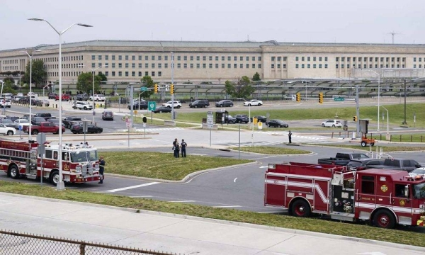 Gunshots were fired on Tuesday morning near the entrance of the Pentagon, resulting in multiple injuries. The facility, the headquarters of the US military, was temporarily placed on lockdown. — Courtesy photo