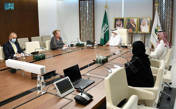Supervisor General of King Salman Humanitarian Aid and Relief Centre (KSrelief) Dr. Abdullah Al-Rabeeah, who is also an adviser at the Royal Court, met here on Thursday Ambassador of the Netherlands to Saudi Arabia Janet Alberda.