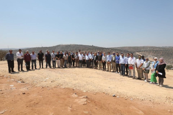 Heads of Mission and representatives from Belgium, Denmark, EU, Finland, France, Germany, Italy, Lithuania, the Netherlands, Norway, Slovenia, Spain, Sweden and the United Kingdom visited Beita, a village near Nablus in the West Bank, the UK government said in a statement on Thursday.