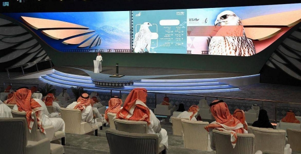 The auction, which will run until Sept. 5, is being organized by the Saudi Falcons Club with the participation of top falconers from around the world.