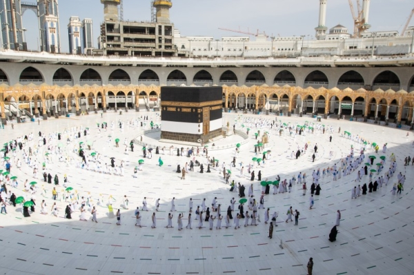 The ministry said it will gradually increase the capacity to reach 2 million pilgrims per month, which includes pilgrims from inside and outside the Kingdom.