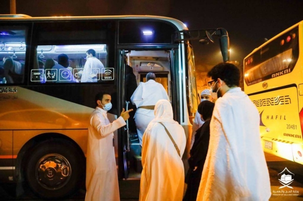 The Ministry of Hajj and Umrah revealed that the purchase of tickets for the transportation service for those who obtained permit for performing Umrah and offering prayer at the Grand Mosque is optional.