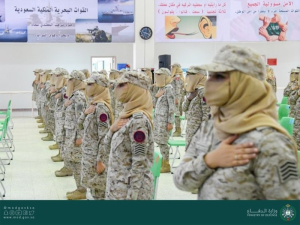The first batch of women soldiers from the Armed Forces Women's Cadre Training Center graduated on Wednesday.