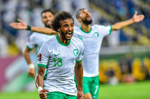 Yassir Al Shahrani headed home in the 67th minute and Saleh Al Shehri's Panenka penalty 10 minutes from time wrapped up the points. — SPA