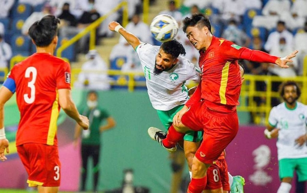 Saudi national football team started Thursday its campaign in the Asian qualifiers for the 2022 World Cup, by defeating Vietnam 3-1, at the Marsool Park Stadium in Riyadh.