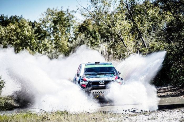"""Saudi Yazeed Al-Rajhi regained the lead in the overall drivers' standings in the World Cup for Short Desert Rally """"Cross Country Baja"""" after topping Baja Italia 2021, the eighth round of the World Cup for Short Desert Rally."""