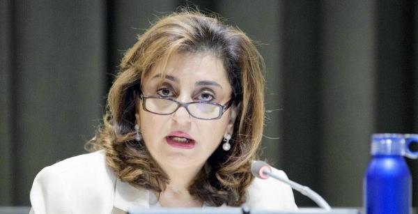 UN Secretary-General António Guterres announced the appointment of Sima Sami Bahous of Jordan as executive director of UN-Women. — courtesy UN Photo/Manuel Elías