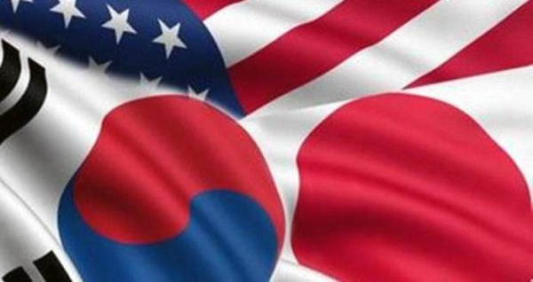 Senior diplomats from Japan, the US and South Korea discussed Tuesday North Korean issues, the Japanese Foreign Ministry said, a day after Pyongyang announced it has successfully test-fired new long-range cruise missiles.
