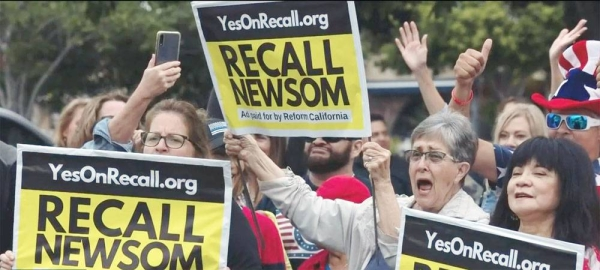 The 2021 California gubernatorial recall election, scheduled on Tuesday, will decide the fate of Democrat governor Gavin Newsom and test the political grit of one of the Democratic Party's stronghold.