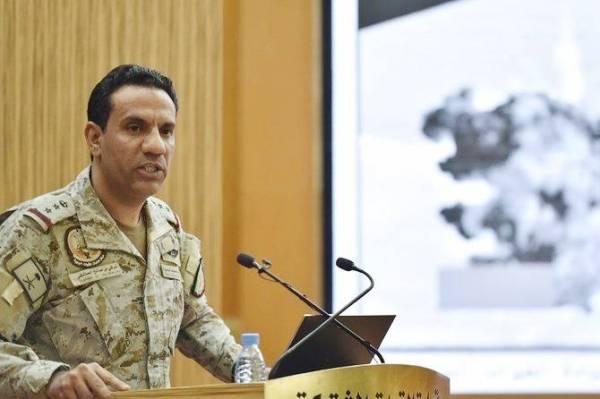 Brig. Gen. Turki Al-Maliki, spokesman of the Coalition to Support Legitimacy in Yemen.