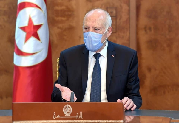Tunisian President Kais Saied has ordered the opening of his country's borders with Libya from Friday. — Courtesy file photo