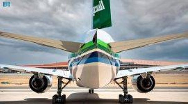 The Saudi Arabian Airlines (Saudia) announced its participation in a major air show on the occasion of the 91st National Day, with the launch of new aircrafts designs for the show.