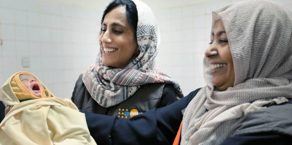 Despite the progress made in reducing maternal and newborn mortality and illness since 1990, the world is far from achieving the targets laid out in the SDGs. — courtesy UNFPA Yemen