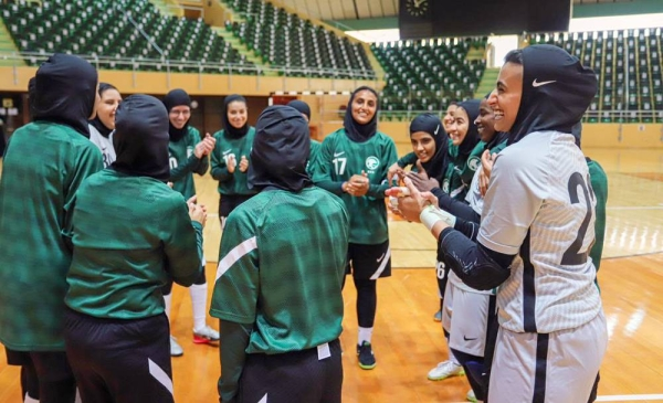 Saudi Arabia's national women futsal team has left for Croatia on Saturday to set up a preparatory camp that will continue until Sept. 30, in preparation for participating in the upcoming Gulf and Asian competitions.