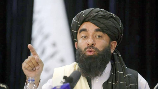 Speaking at a press conference, Zabihullah Mujahid said women might be added later.