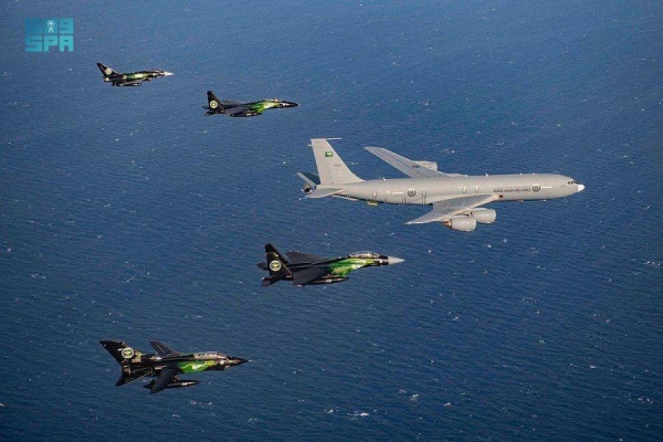 Spectacular air show marks beginning of National Day celebrations in Jeddah, Taif