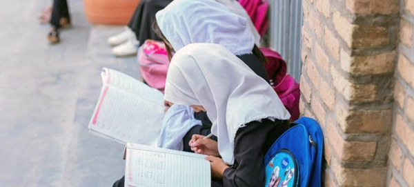 As schools slowly reopen in parts of Afghanistan, it is important to ensure that both girls and boys are able to return safely. — courtesy UNICEF
