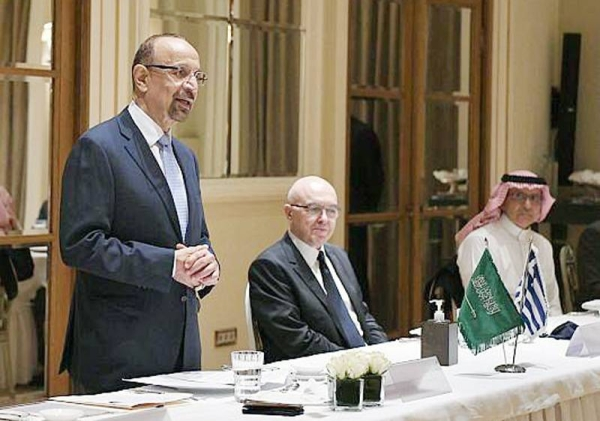 Minister of Investment Eng. Khalid Bin Abdulaziz Al-Falih began an official visit to Greece during which he will meet with a number of senior government officials and executives in several major Greek companies in various business sectors.