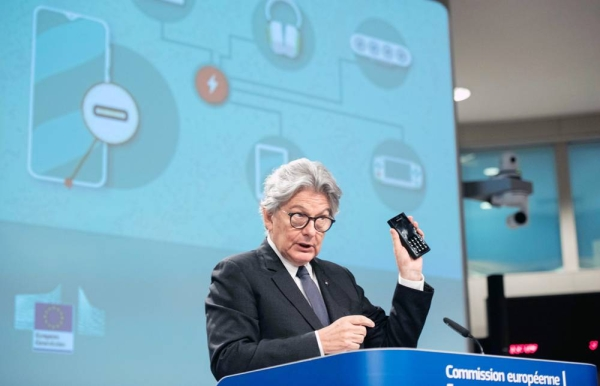 EU Commissioner for the internal market, Thierry Breton.