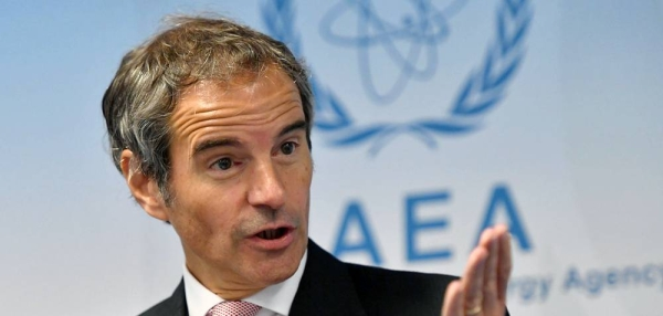 File photo of IAEA Director-General, Rafael Mariano Grossi.