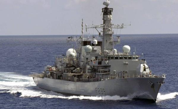 File photo of HMS Richmond