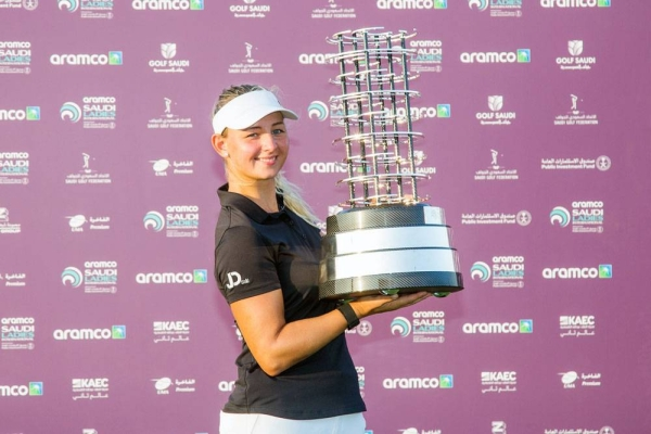 Emily Kristine Pedersen will return as Saudi Ladies International champion