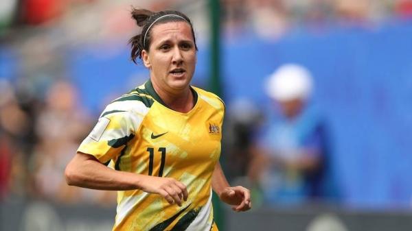 Lisa De Vanna made 150 appearances for the Matildas, scoring 47 goals.