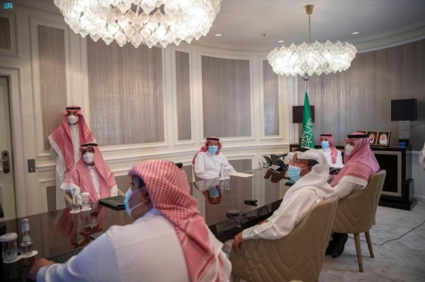Minister of Foreign Affairs Prince Faisal Bin Farhan launches on Wednesday the application for self-registration of the biometrics of Hajj and Umrah pilgrims through smartphones.