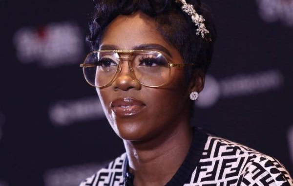 Tiwa Savage says she is worried about the video's impact on her son.