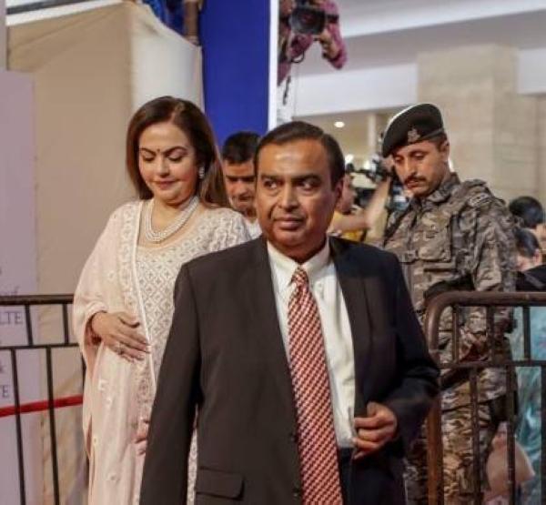 File photo of Mukesh Ambani, Asia's richest person.