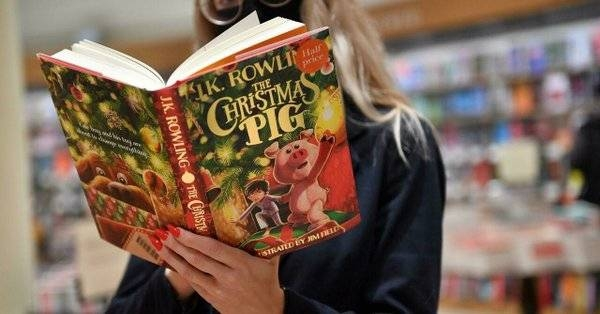 British author J.K. Rowling's new children's book The Christmas Pig. — Courtesy photo