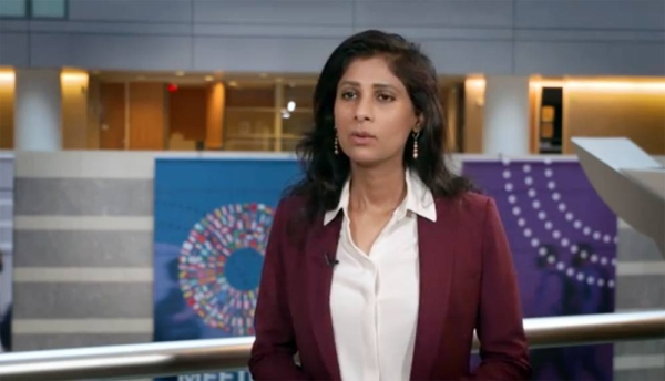 Gita Gopinath, economic counselor and director of the research department at the International Monetary Fund.