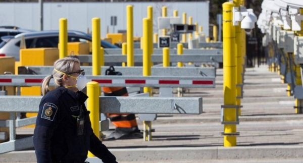 The US has closed its land border with Canada and Mexico since March 2020.