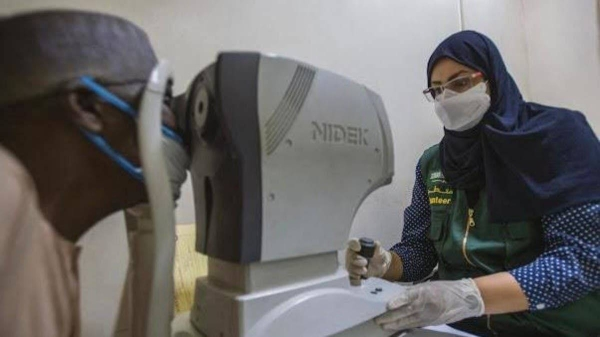 Young Saudi optometrist Nouf Al-Balawi is just excited over getting an opportunity to offer altruist voluntary services for the poor people in Nigeria. (Photo: Al-Arabiya)