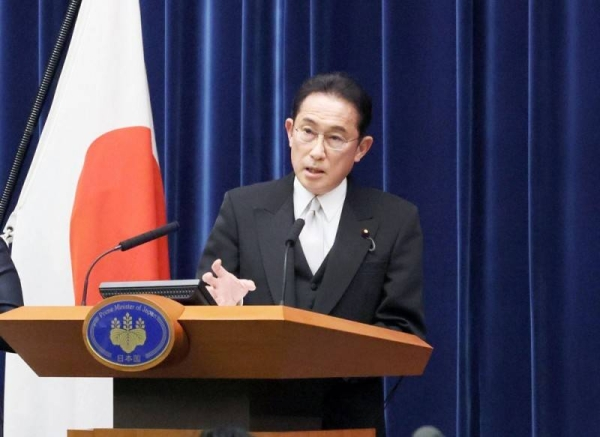 Japan's new Prime Minister Fumio Kishida in this recent photo.